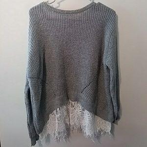Womens sweater shirt